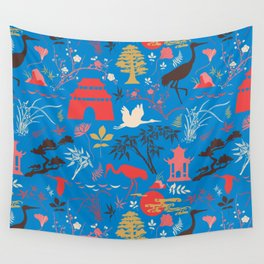 Asian Garden - Everything Has its Beauty Wall Tapestry
