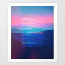 Into deep Art Print