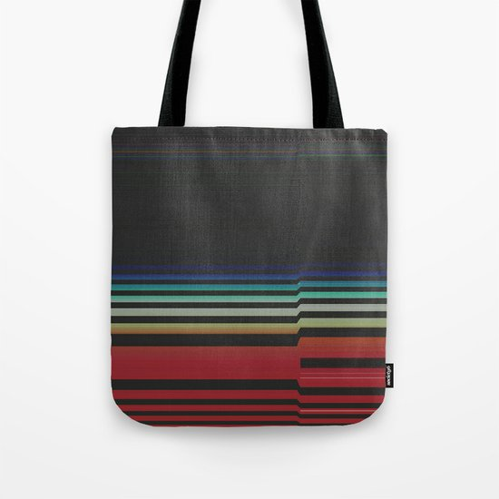 Let's Stripe Tote Bag