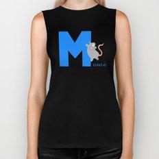 m for mouse Biker Tank