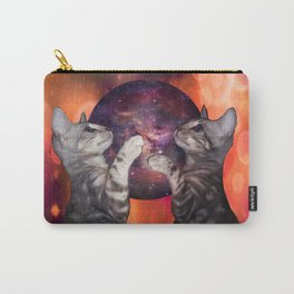 The Silver Marble Oracle Kitty Cats of the Kittyverse Carry-All Pouch