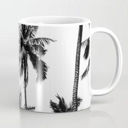 Palms, Tropical, Nature, Scandinavian, Minimal, Trendy decor, Interior, Wall art Coffee Mug