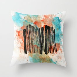 Communication Breakdown Throw Pillow