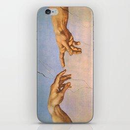 Michelangelo's Creation iPhone Skin