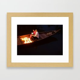 Vietnamese Lovers Framed Art Print