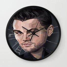 DiCaprio Caricature Wall Clock