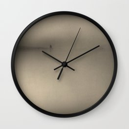 Kilby in Sepia Wall Clock