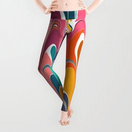 Colorful Abstract Design 12 Leggings