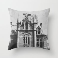 Urbex Throw Pillow