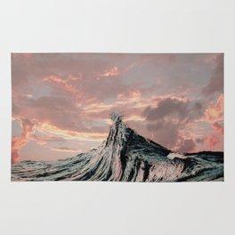 WAVE # 2 - sky Rug