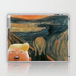 Trump Baby & The Scream Laptop & iPad Skin
