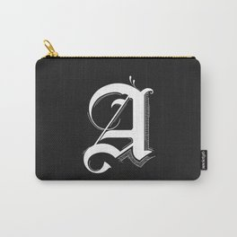 Letter A Carry-All Pouch