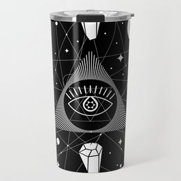 Space Crystals & Secrets of the Universe Travel Mug