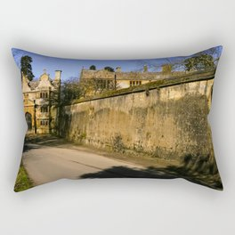 Manor Gatehouse  Rectangular Pillow
