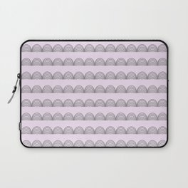 Pastel Scallops - For a Minute There I Lost Myself Laptop Sleeve