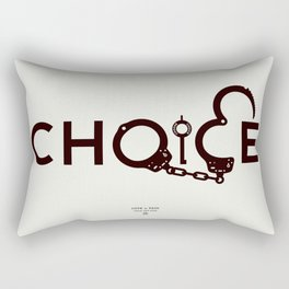 CHOICE by THOM VAN DYKE Rectangular Pillow