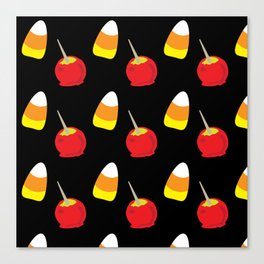 Candy Corn and Candy Apples Canvas Print