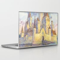 castle Laptop & iPad Skins featuring Castle by Kasheva