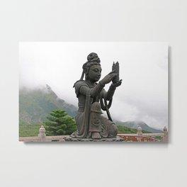 Buddhism - Tian Tan Buddha 137 - Hong Kong Metal Print