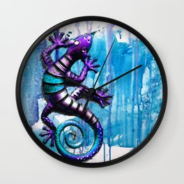 The LIZARD Wall Clock