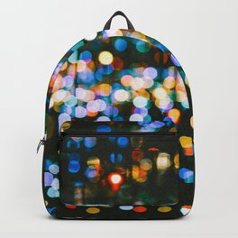 The Blurred Lights (Color) Backpack