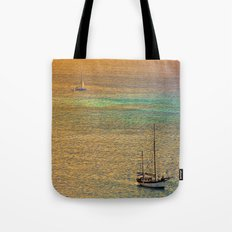 Sailing From the Sunset Tote Bag