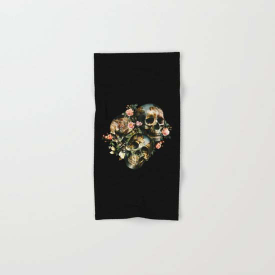 Skull  & Venus Hand & Bath Towel