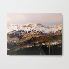 Telluride Mountains Metal Print