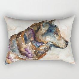 WOLF#1 Rectangular Pillow