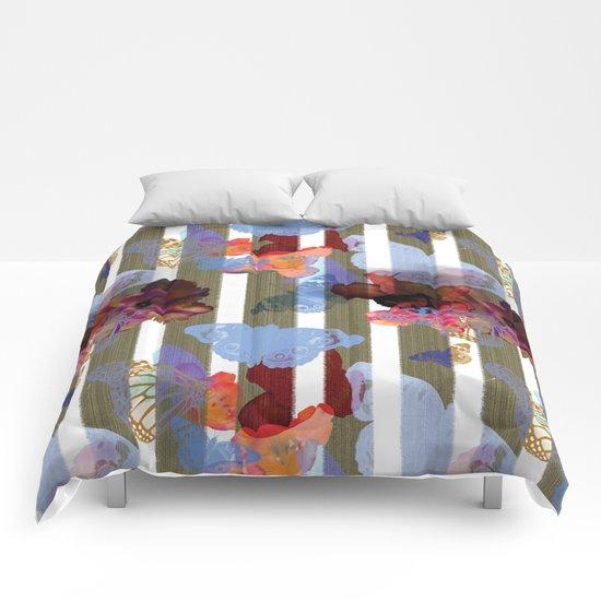 Fly Flower Comforters