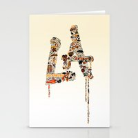 lakers Stationery Cards featuring La La Land by Dave Homer