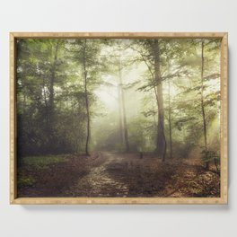 german rain forest Serving Tray