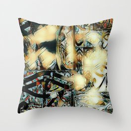 Phillip of Macedon series 4 Throw Pillow