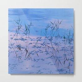 Reflections on the lake surface #society6 #decor #buyart Metal Print
