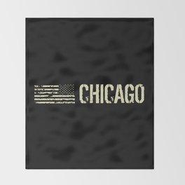 Black Flag: Chicago Throw Blanket