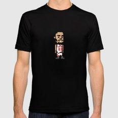 8-Bit: Joakim Noah Black Mens Fitted Tee SMALL