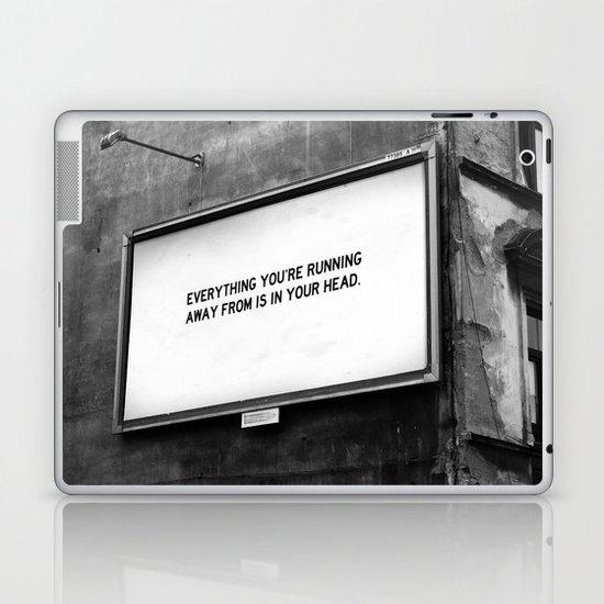 BILLBOARD FANTASIES #2 Laptop & iPad Skin