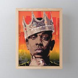 King Kendrick Framed Mini Art Print