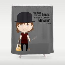 Joaquin Sabina Shower Curtain