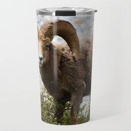 Ram Stare Down Travel Mug