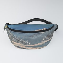 Ice Fields - winter day Fanny Pack