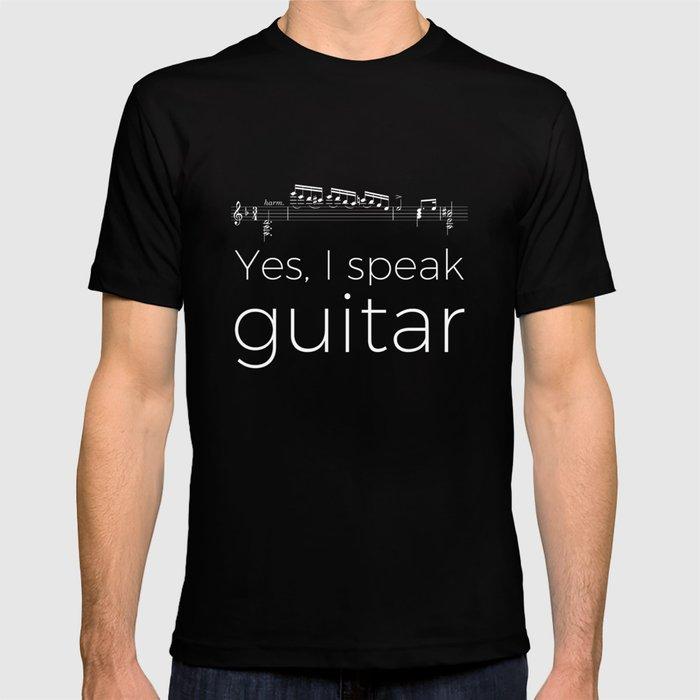 Yes, I speak guitar T-shirt