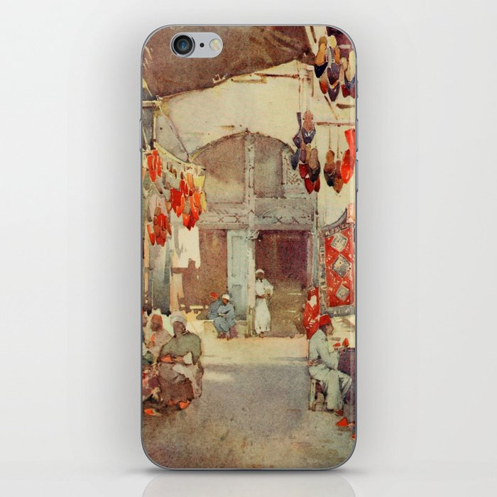 Cane, Ella du (1874-1943) - The Banks of the Nile 1913, The Shoe Bazaar, Cairo iPhone Skin