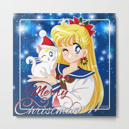 Merry Xmas Minako! Metal Print