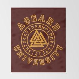 Asgard University Throw Blanket