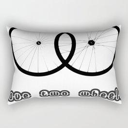 Love two wheels Rectangular Pillow