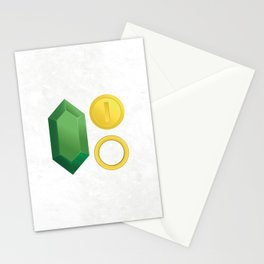 Video Game Money - Zelda, Mario, Sonic Stationery Cards