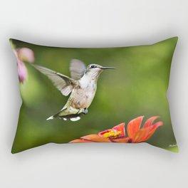 Hummingbird IV Rectangular Pillow