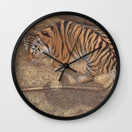 Under The Pines Wall Clock