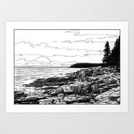 Crepuscule - Twilight Art Print